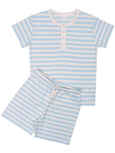 SNORK - Vilhelm Summer Pyjamas Sea Stripes