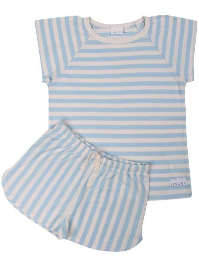 SNORK - Selma Summer Pyjamas Sea Stripes