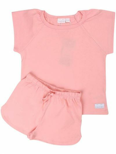 SNORK - Selma Summer Pyjamas Peach Blush