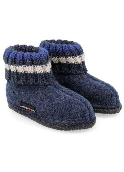 Haflinger Paul Hjemmesko Jeans