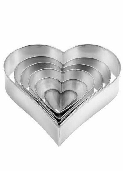 Tescoma Cookie Cutter 6 PCS Heart