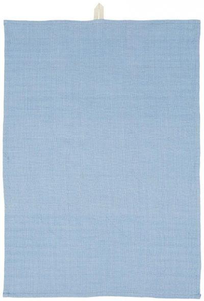 Ib Laursen Viskestykke Vævet Blue