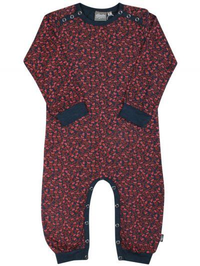 ORGANIC - Anis suit Dusty navy FLEURIE