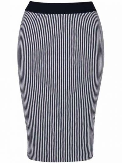 ORGANIC - Betsy Skirt Cold Slate/Chalk
