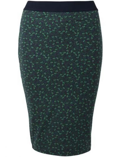 ORGANIC - Betsy Skirt Dark Navy FLEURIE