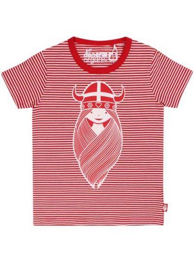 ORGANIC - Beetroot Tee Red/Chalk FREJA
