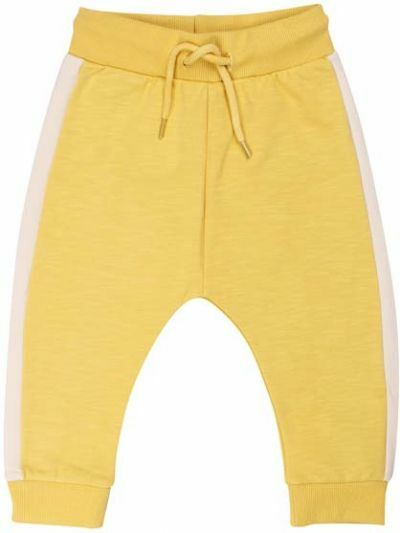 ORGANIC - Boeg Pants Dusty Yellow/Chalk