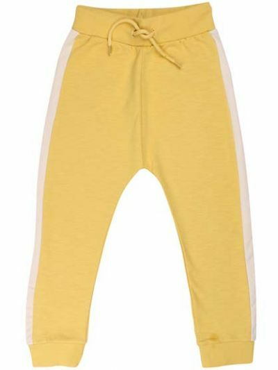 ORGANIC - Boeg Pants Jr Dusty Yellow/Chalk