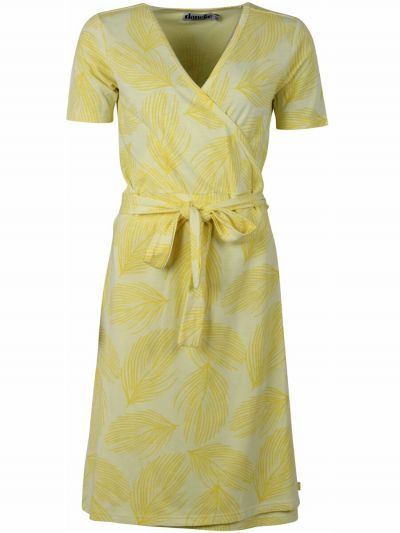 ORGANIC - Venice Dress Light lemon/Lemoncello PALMA