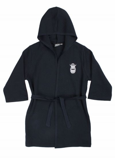 Organic - Earlybird Housecoat Dk Navy