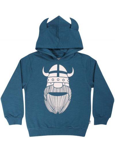 ORGANIC - Warrior Hoodie Stone Blue ERIK
