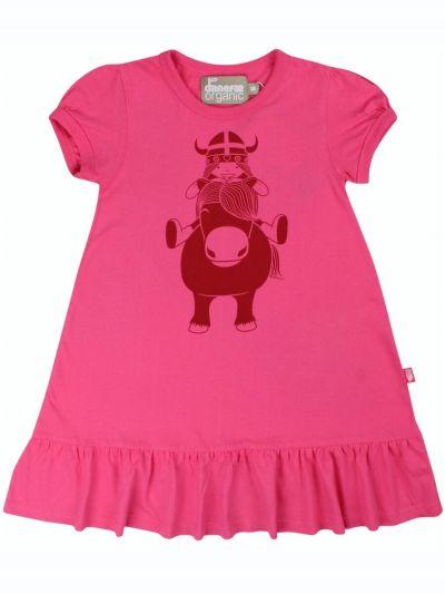 ORGANIC - Vesterbro Dress Pow Pink PONY FREJA
