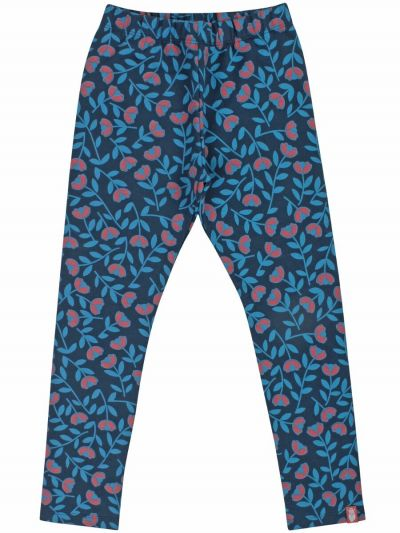 ORGANIC - Andrea Leggings Dusty blue FLEURIE