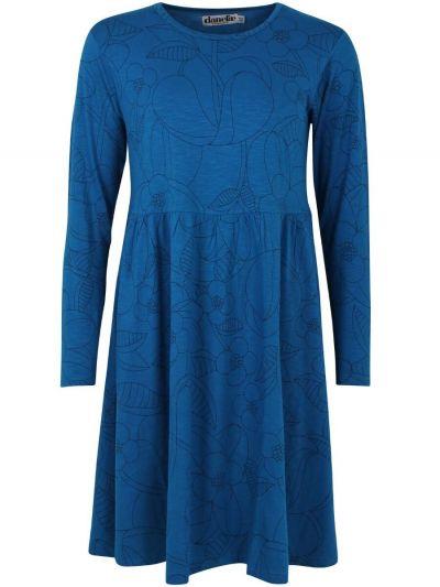 ORGANIC - Skanderborg Dress Warm Indigo BLOOM BOOM