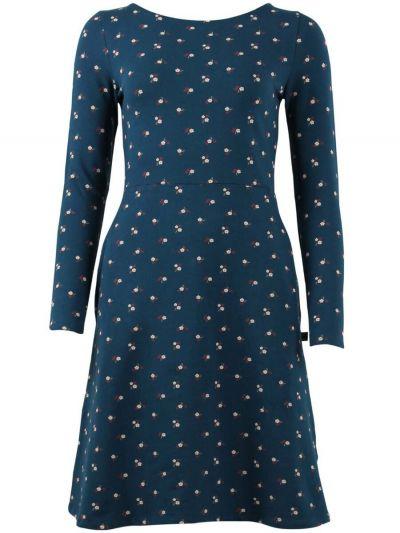 ORGANIC - Sidsel Dress Stone blue MINIFLOWER