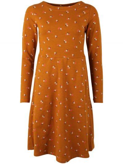 ORGANIC - Sidsel Dress Mustard MINIFLOWER
