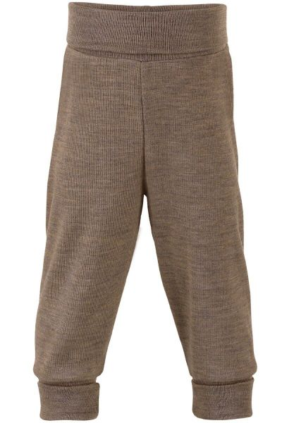 Engel Natur Baby Pants w.waistband GOTS Walnut