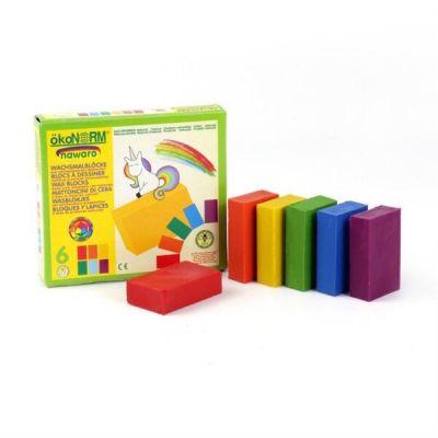 Oekonorm Wax Blocks 6-Colors Unicorn
