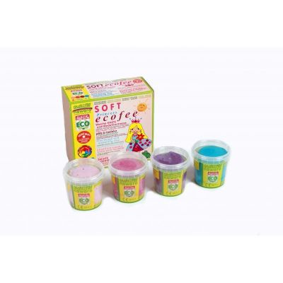 Oekonorm Finger Paint Ecofee 4-Color Set