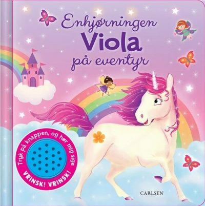 Carlsen-Sjov Med Lyd Enhjørningen Viola på Eventyr
