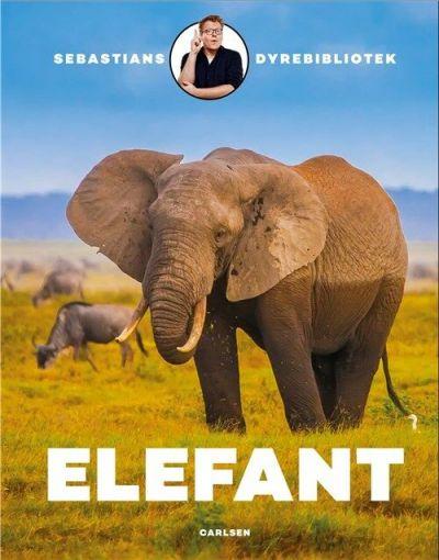 Carlsen Sebastians Dyrbibliotek Elefant