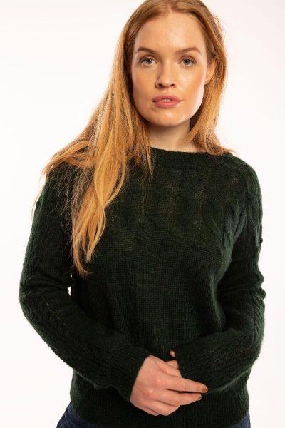 Aarluk Sweater Black green