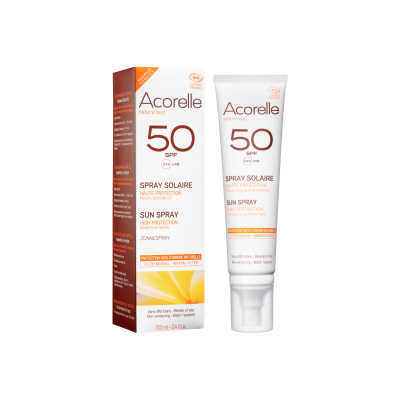 Acorelle Sun Spray SPF50 Sensitive skin 100ml