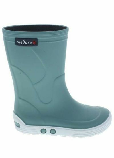 Meduse Rubber Boots Airport Lichen/Blanc