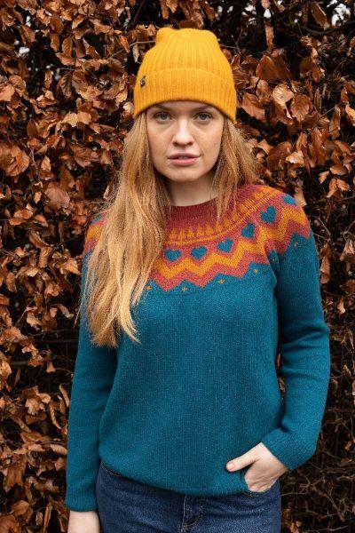 Anne Sweater Stone blue