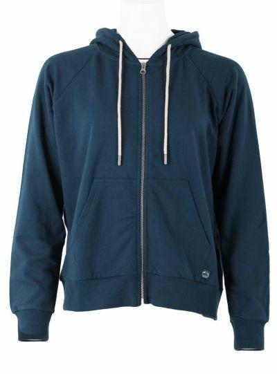 ESS - ORGANIC Olympic Zip-up Stone Blue