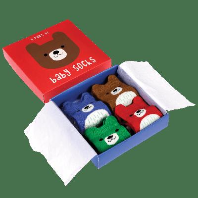 RL Socks - 4 par Bear Design