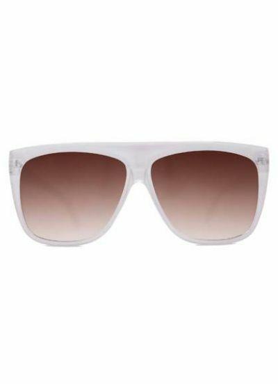 Solbriller Crusheyes BELIEVER White/Bronze