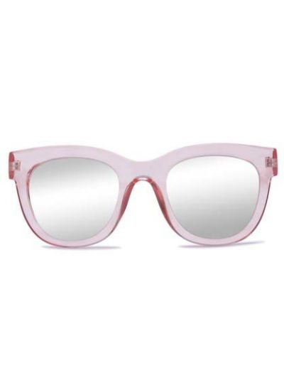 Solbriller Crusheyes BELLISIMO Crystal Pink Silver Mirror