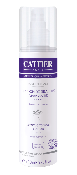 Cattier Gentle Tonic Lotion Rose/Camomille