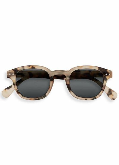 IZIPIZI Solbriller +0 #C Light Tortoise