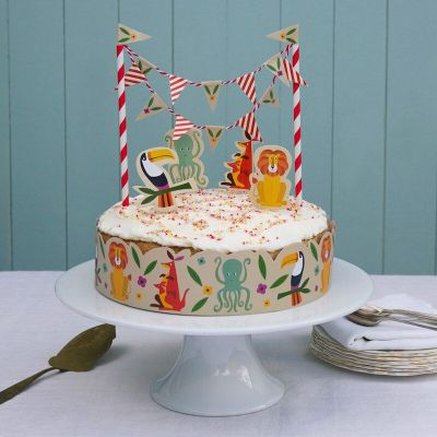 RL Cake Bunting Colorful Creatures