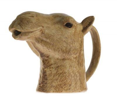 Quail Jug Large Camel