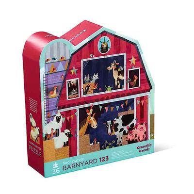 Joytoy Shaped Puzzle Barnyard 36 Pcs