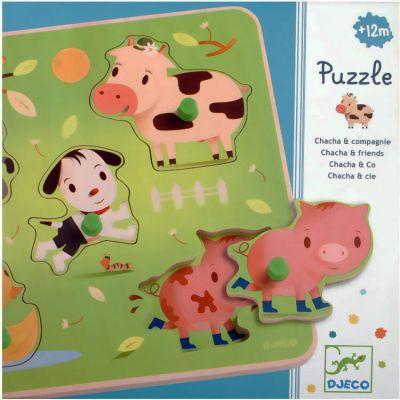 Djeco Puzzle Chacha & Co. Farm