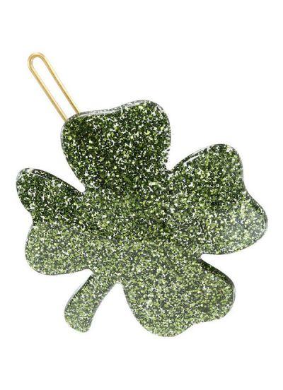 Pico CPH Clover Clip Green Glitter