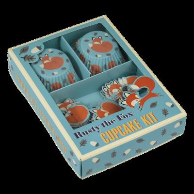 RL Cupcake Kit Rusty the fox