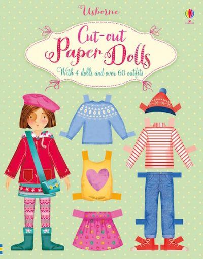 Usborne-Cut Out  Paper Dolls