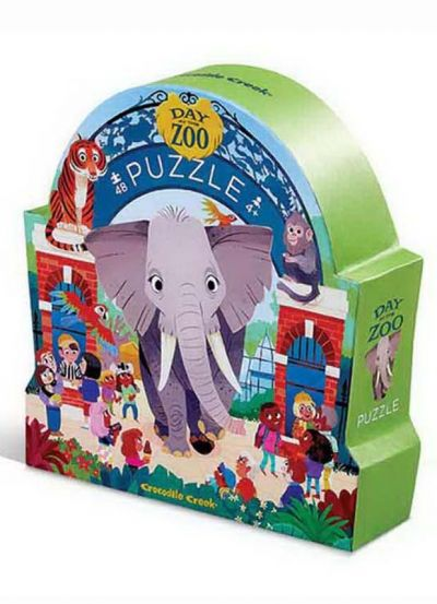 Joytoy Puzzle 48 Brk Day at the zoo