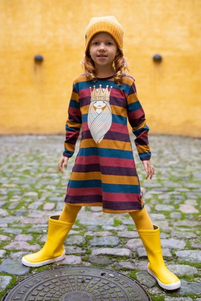 Nanna Dress Earthy PRINSESSE