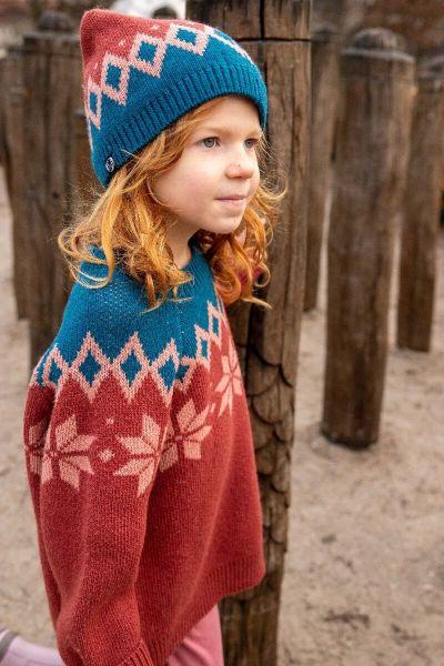 Pulk Sweater Rose Tile