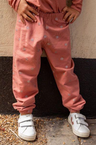 Cajou Jogging  Grey Rose/Silver Glitter SURPRISE DOTS