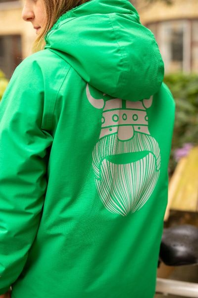 Dunderklump Winter Jacket Green