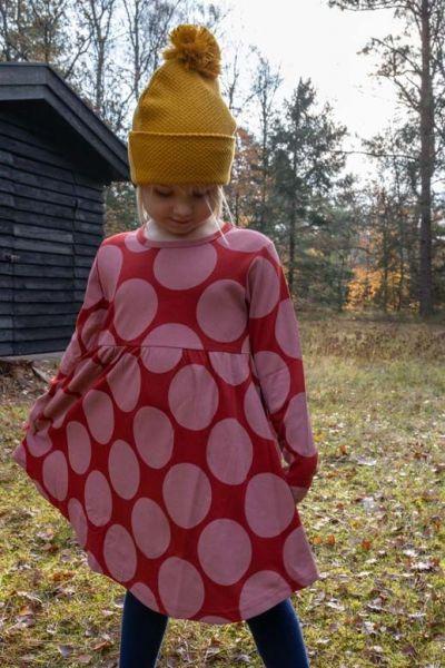 Sugar Dress Dk Rust MEGADOTS