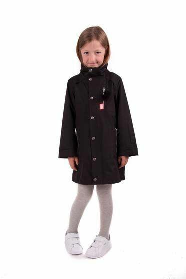 Snap Jacket Black