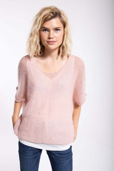 Liberty Sweater Cold Rose